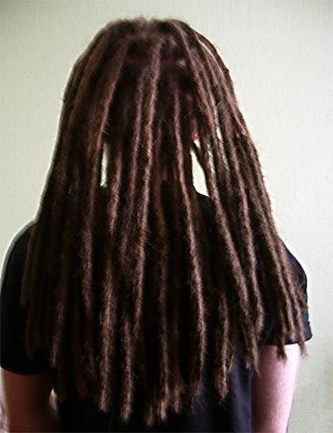 Дреды на волосах фото